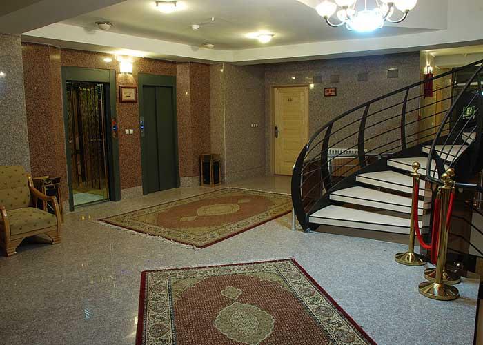راهرو هتل پارت اصفهان