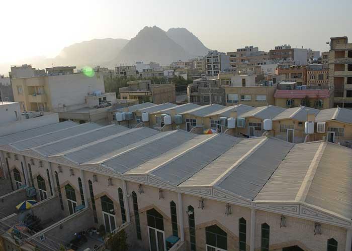 ویلاهای شمالی هتل آپارتمان هخامنشیان پارتاک اصفهان