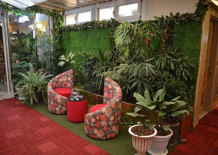 تصاویر فضای سبز هتل آپارتمان هخامنشیان پارتاک اصفهان