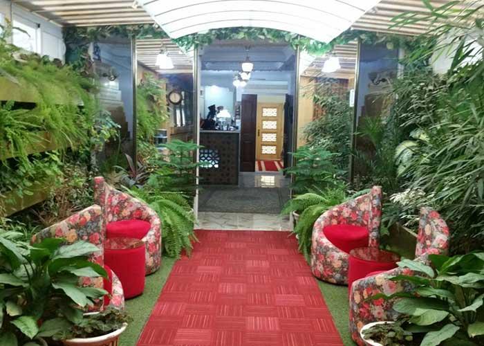فضای سبز هتل هخامنشیان پارتاک