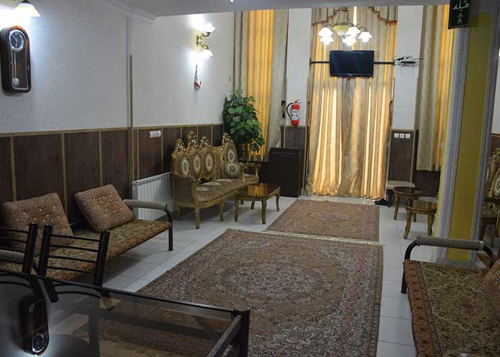 سوئیت های شمالی هتل هخامنشیان پارتاک اصفهان