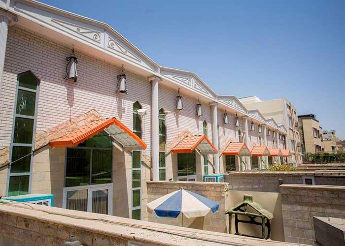 ویلاهای جنوبی هتل آپارتمان هخامنشیان پارتاک اصفهان
