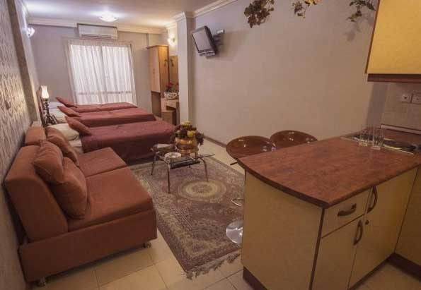 سوئیت هتل آپارتمان پارتیکان اصفهان