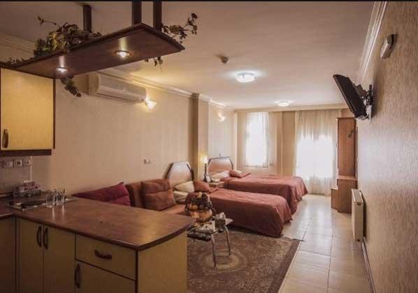 آپارتمان هتل آپارتمان پارتیکان اصفهان
