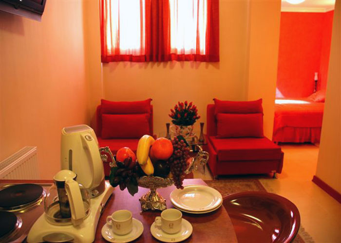 تصاویر هتل آپارتمان پارتیکان اصفهان