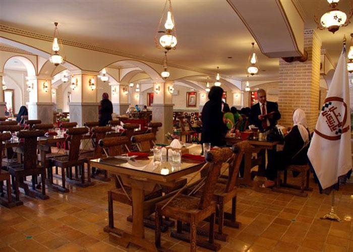 رستوران هتل آپارتمان پارتیکان اصفهان