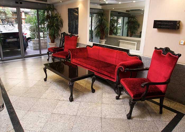 لابی هتل پاسارگاد