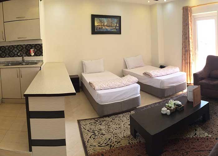 اتاق دو تخته هتل پدرام سرعین