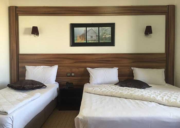 عکس اتاق هتل پدرام سرعین