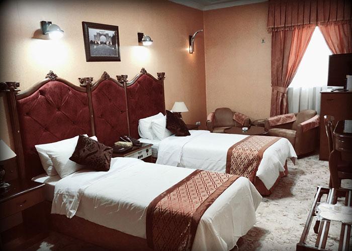 اتاق های هتل پرسپولیس شیراز