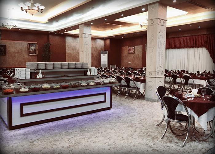 رستوران هتل پرسپولیس شیراز