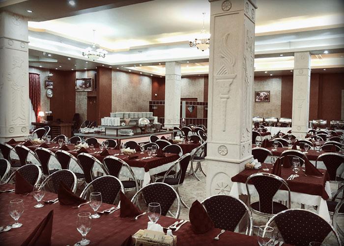 تصاویر رستوران هتل پرسپولیس شیراز
