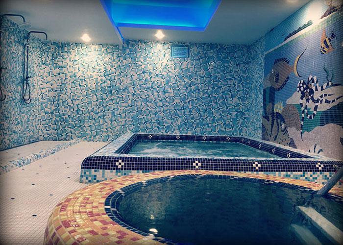 جکوزی هتل پرسپولیس شیراز