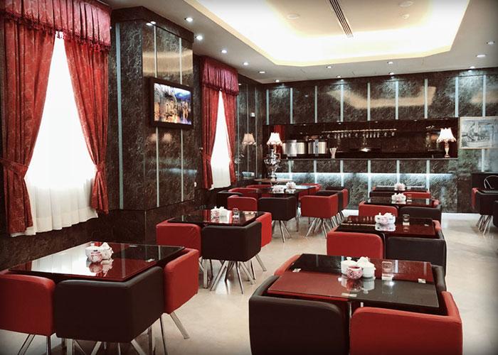 تصاویر کافی شاپ هتل پرسپولیس شیراز