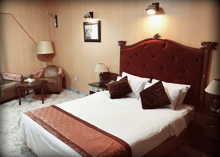 عکس اتاق های هتل پرسپولیس شیراز