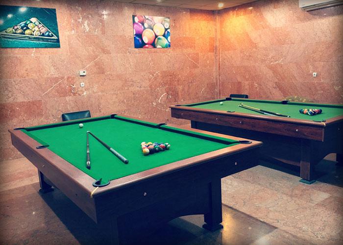 سالن بیلیارد هتل پرسپولیس شیراز