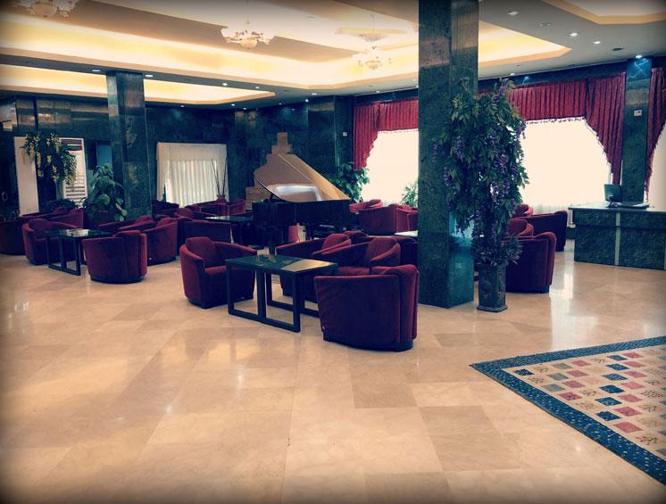 لابی هتل پرسپولیس شیراز
