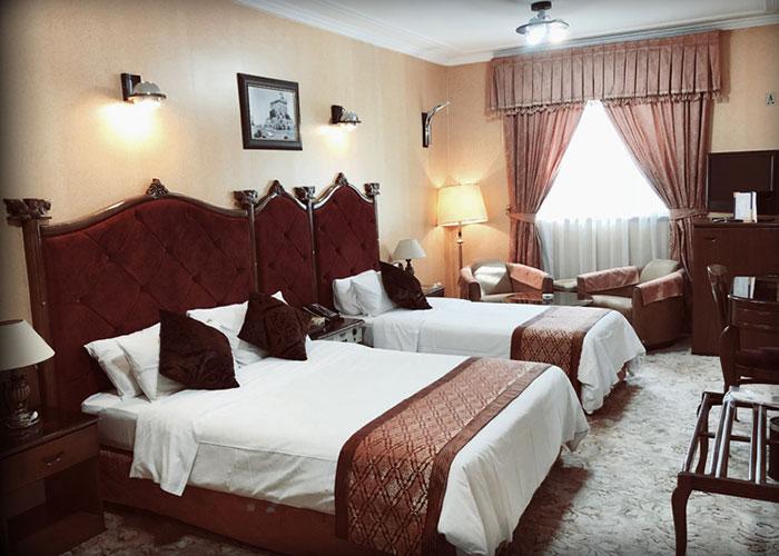 تصاویر اتاق های هتل پرسپولیس شیراز