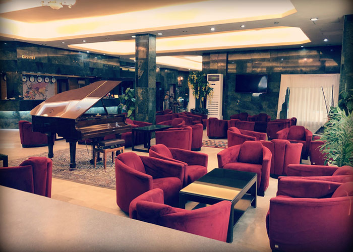 عکس لابی هتل پرسپولیس شیراز