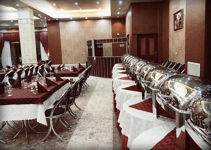 تصاویر رستوران هتل پرسپولیس