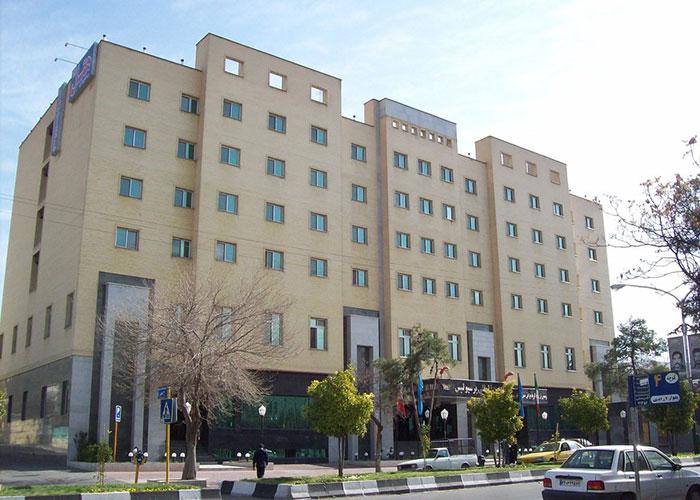 ساختمان هتل پرسپولیس شیراز