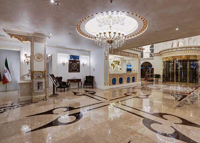 لابی هتل  پرشین پلازا تهران