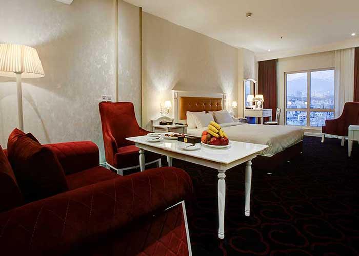 مبلمان اتاق هتل  پرشین پلازا تهران