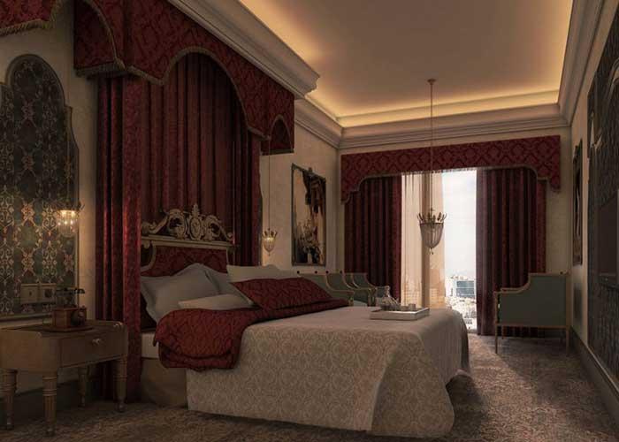 اتاق یک تخته هتل  پرشین پلازا تهران