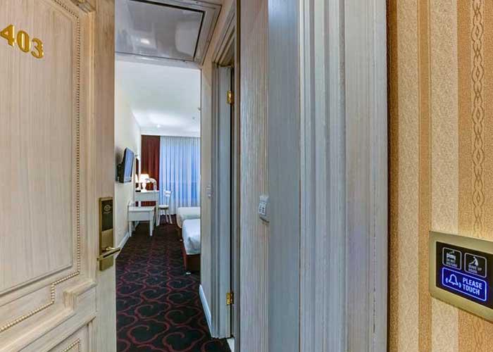 ورودی اتاق هتل  پرشین پلازا تهران