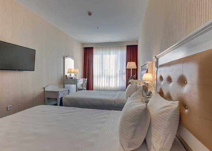 اتاق دو تخته توئین هتل  پرشین پلازا تهران