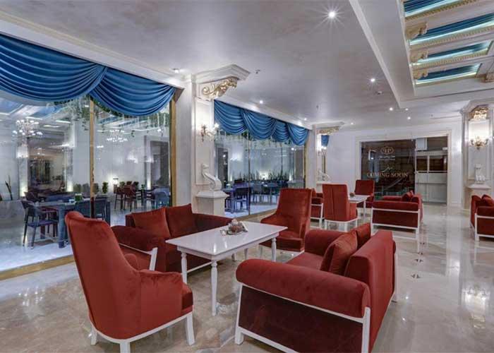 فضای لابی هتل  پرشین پلازا تهران