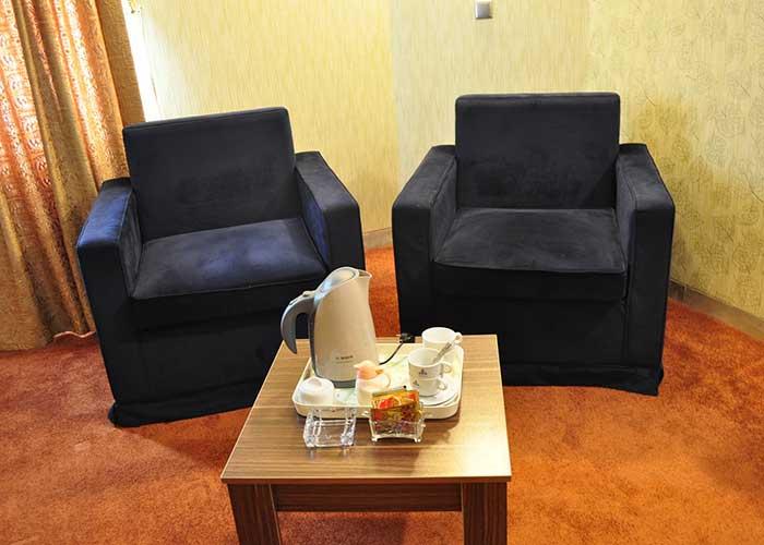 مبلمان اتاق هتل پتروشیمی تبریز