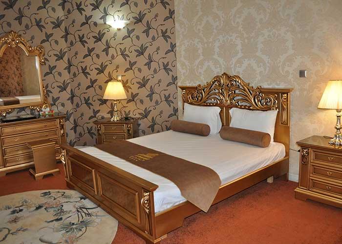 اتاق دو تخته دبل هتل پتروشیمی تبریز