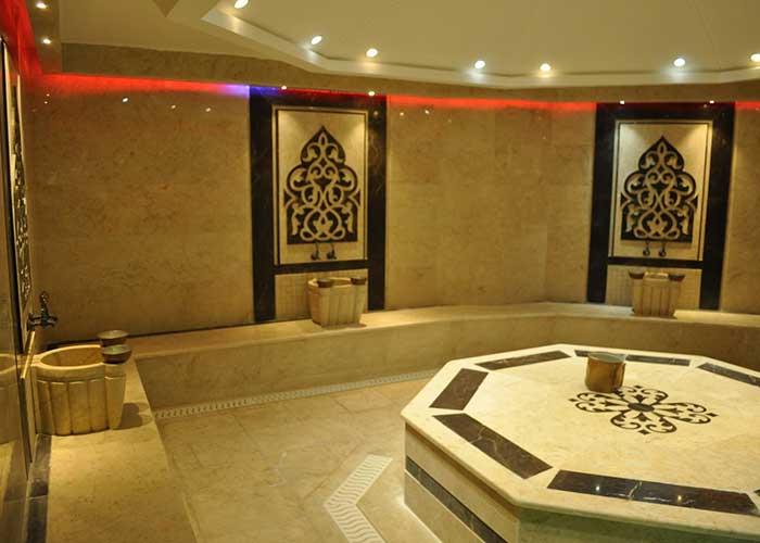 سونا بخار هتل پتروشیمی تبریز