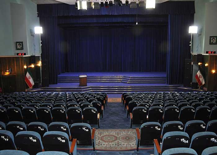 آمفی تئاتر هتل پتروشیمی تبریز