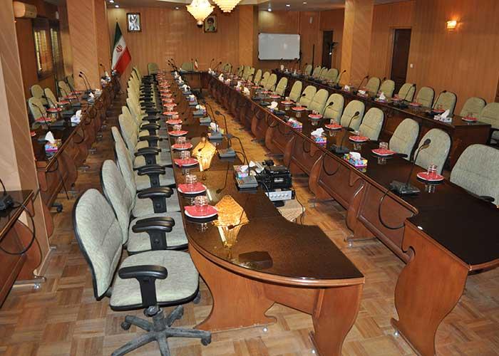 سالن جلسات هتل پتروشیمی تبریز