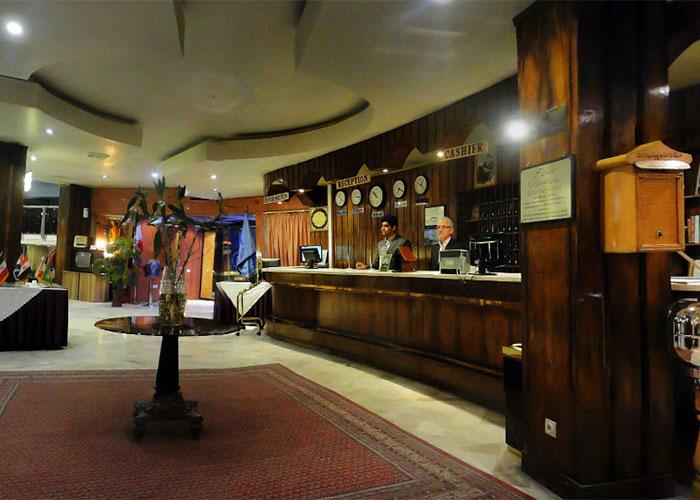 پذیرش هتل پیروزی اصفهان