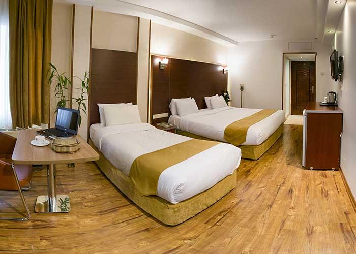 سه تخته هتل پیروزی اصفهان