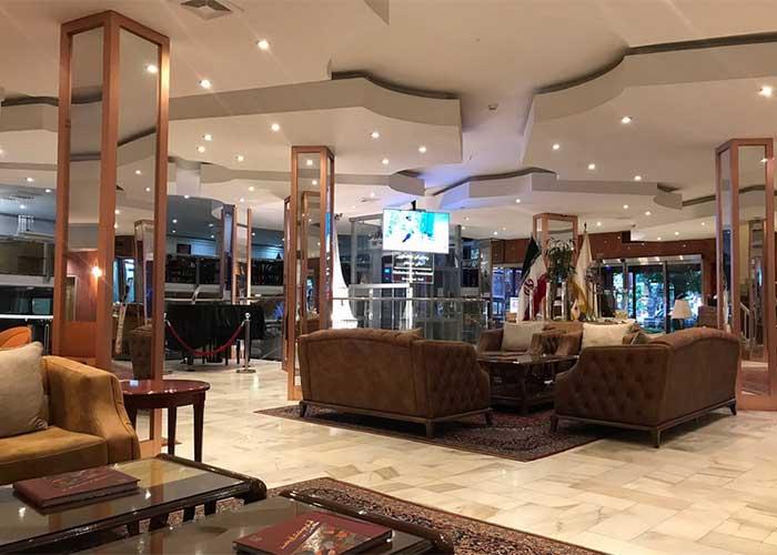 تصاویر لابی هتل پیروز یاصفهان