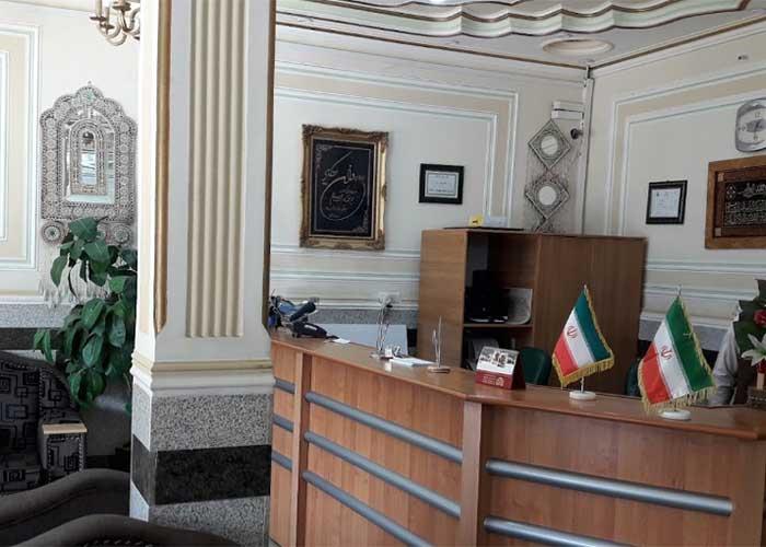 پذیرش هتل قصر ایرانشهر