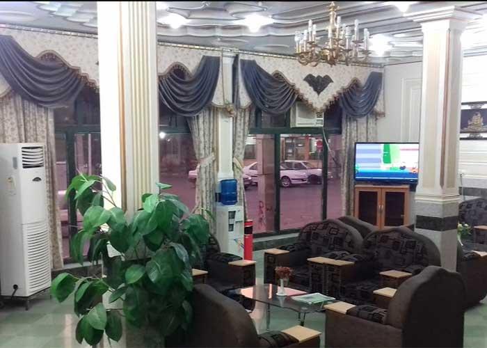 لابی هتل قصر ایرانشهر