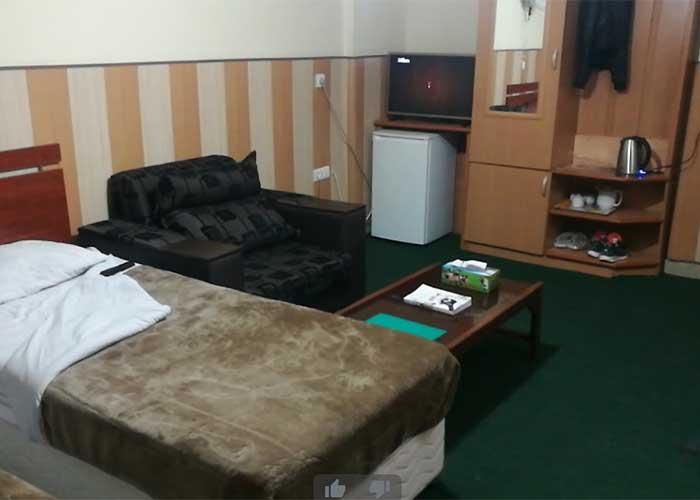 اتاق هتل قصر ایرانشهر