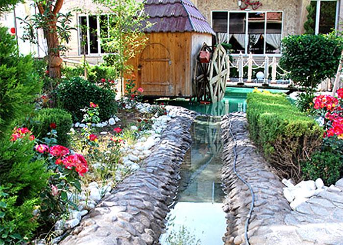 کافی شاپ هتل راه و ما یزد