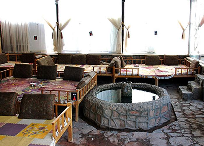 عکس کافی شاپ هتل راه و ما یزد