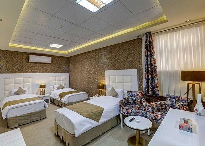 عکس اتاق هتل راه و ما یزد