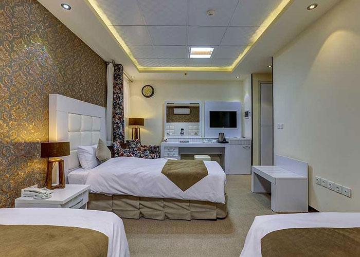 تصاویر اتاق هتل راه و ما یزد