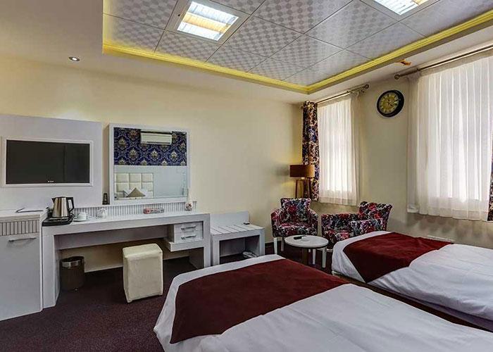 تصاویر اتاق هتل راه و ما