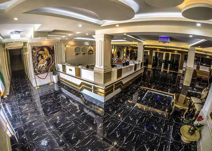 پذیرش هتل راتینس ماسال