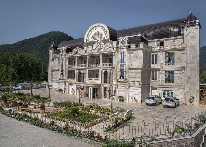 ساختمان هتل راتینس ماسال
