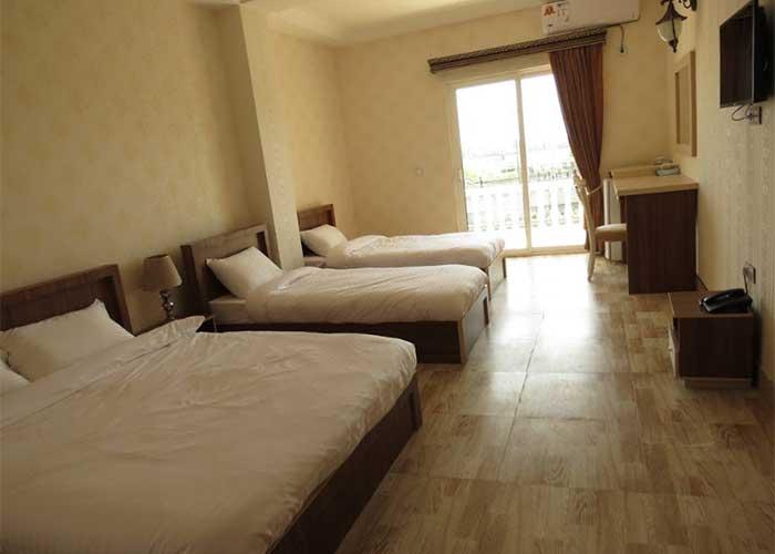 اتاق چهار تخته هتل راتینس ماسال